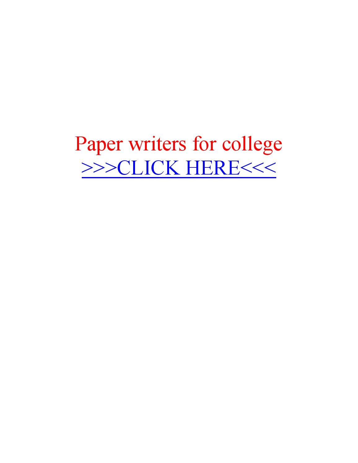 Help writing papers for college by essay writer service