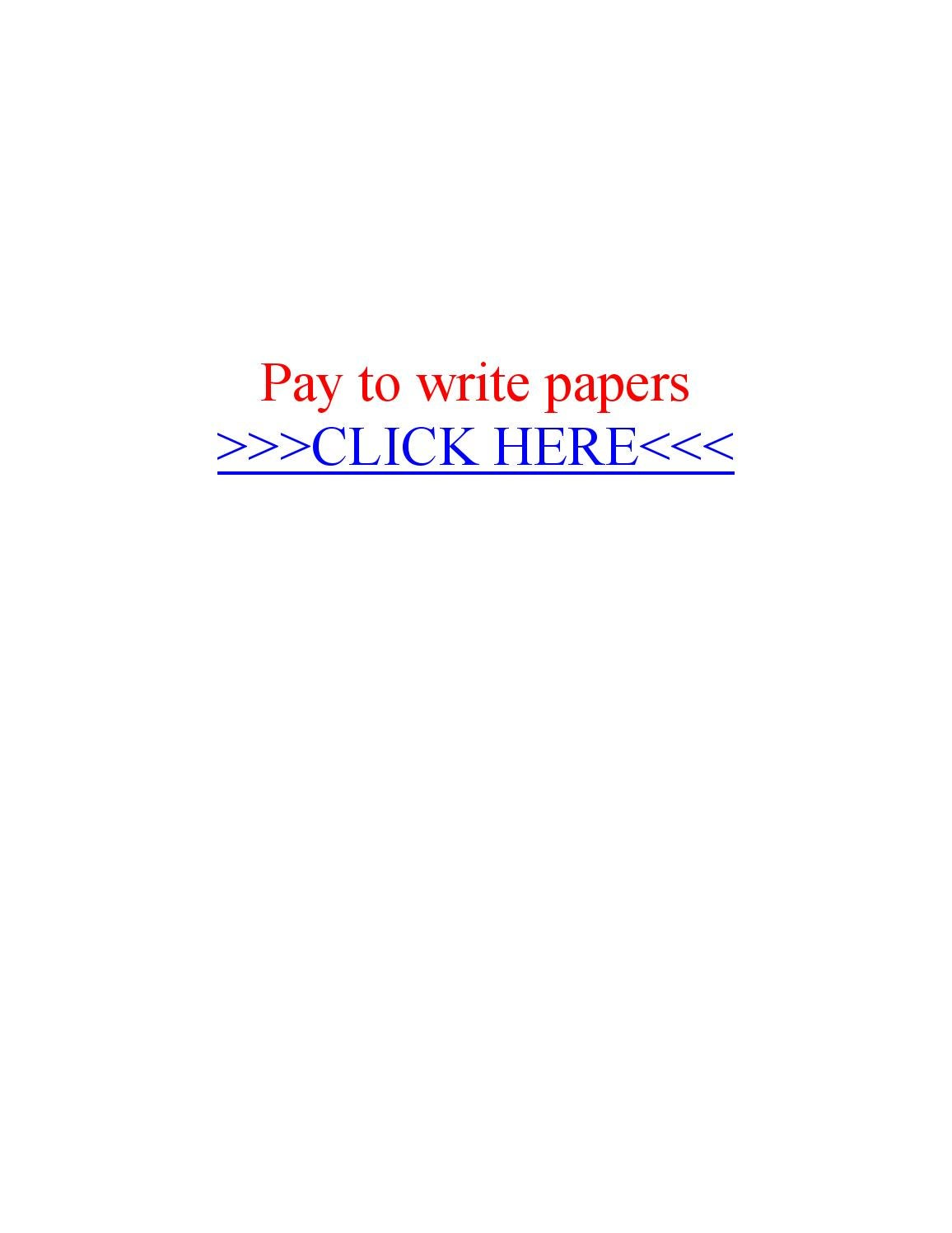 Pay writing paper