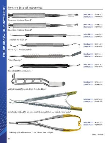 Brasseler USA 2015 Oral Surgery Guide by Brasseler USA - issuu