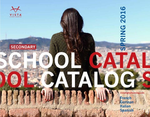 Vista higher learning spring 2016 school catalog by vista higher page 1 fandeluxe Image collections