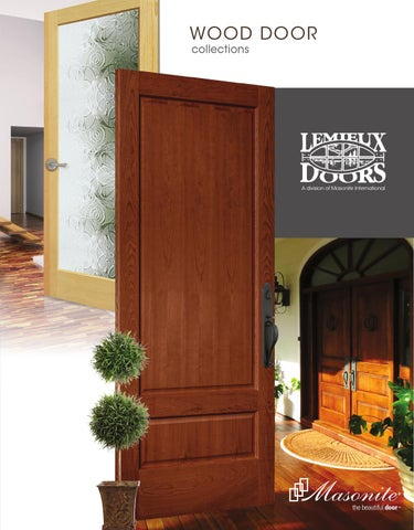 Page 1 & Lemieux Wood Door Collection by clearymillwork - issuu