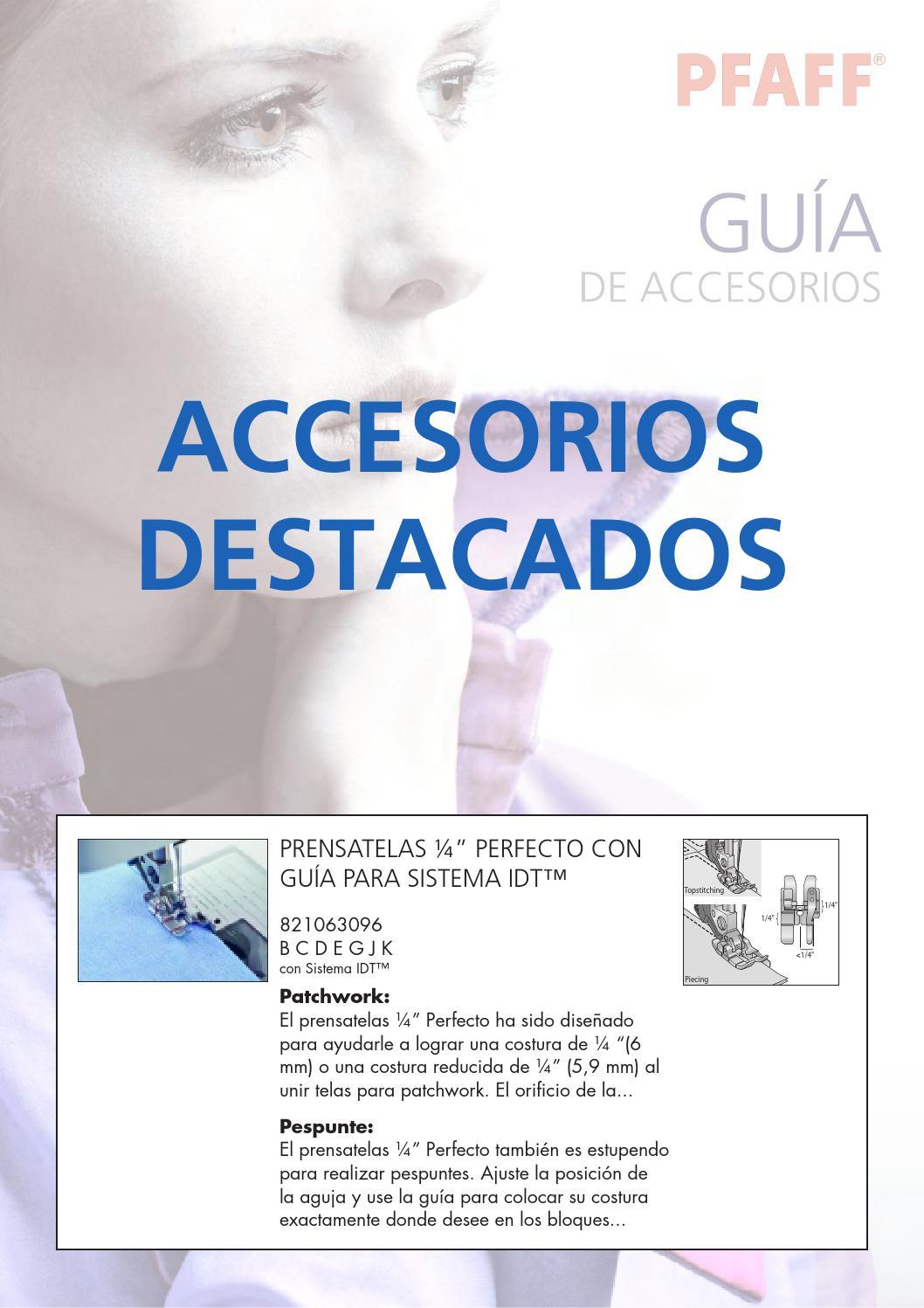 Accesorios Pfaff by Seoane Textil - issuu