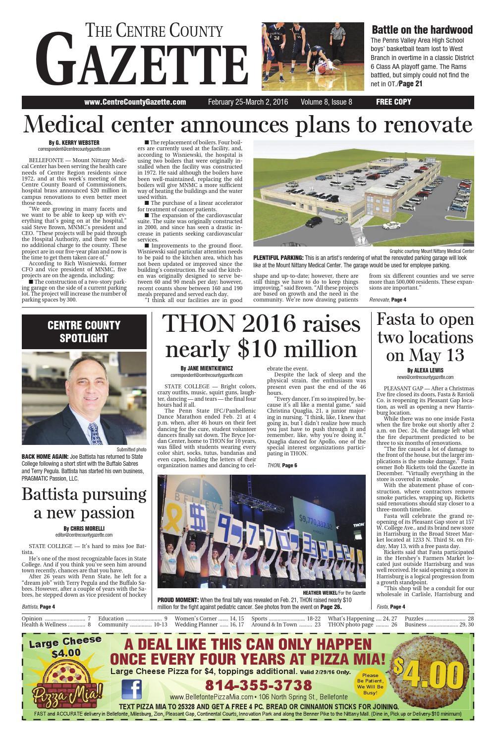 Centre County Gazette, Feb. 25, 2016 by Indiana Printing ... 8ce4cb9c85