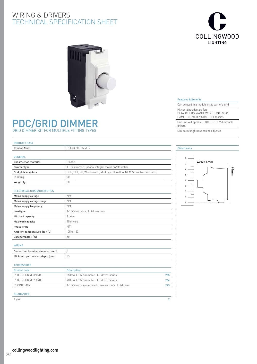 Collingwood Lighting Edition 19 Uk By Issuu Circuit Diagram In Addition Led Drivers 0 10v Dimming Wiring
