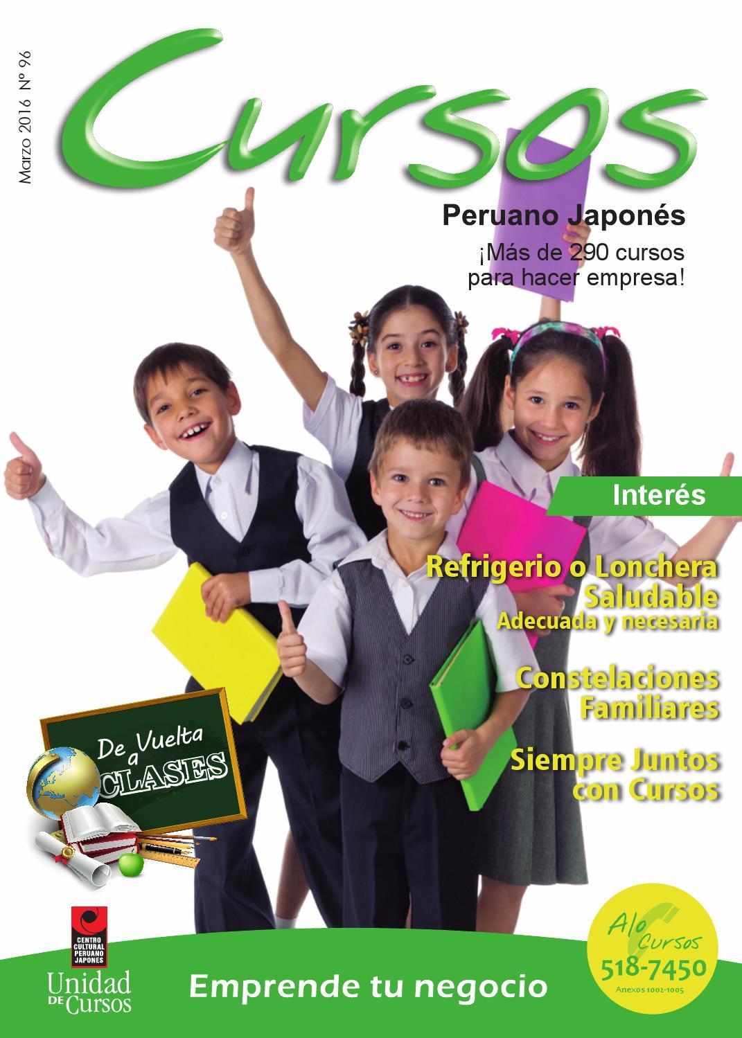 7e84044fdc Revista Cursos Marzo 2016 by Unidad de Cursos - issuu