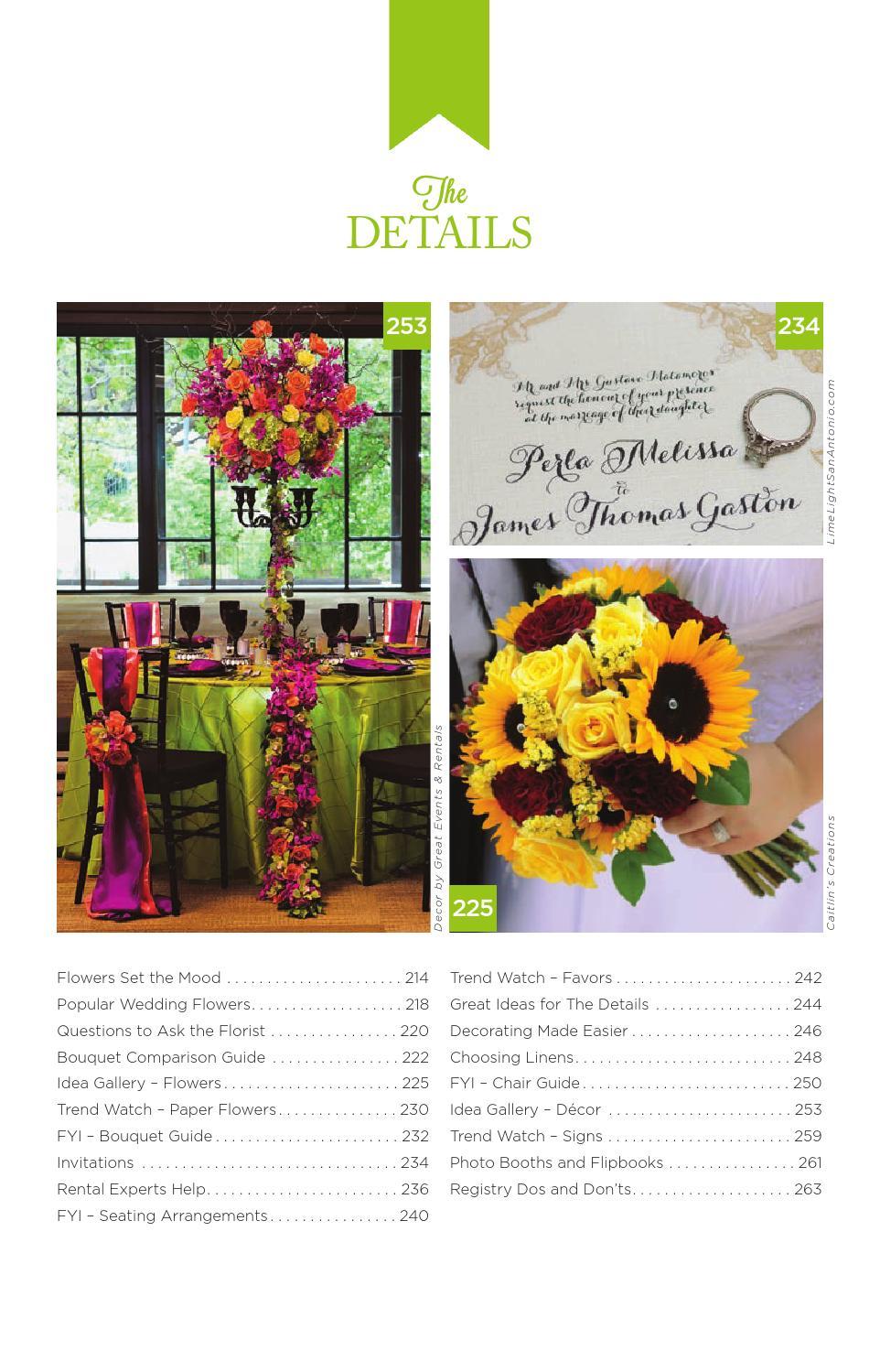 san antonio's wedding guide #54texas wedding guide - issuu