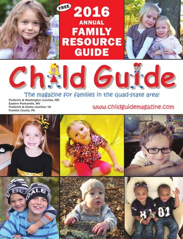 2016 Family Resource Guide Mar Apr Issue By Child Publishing