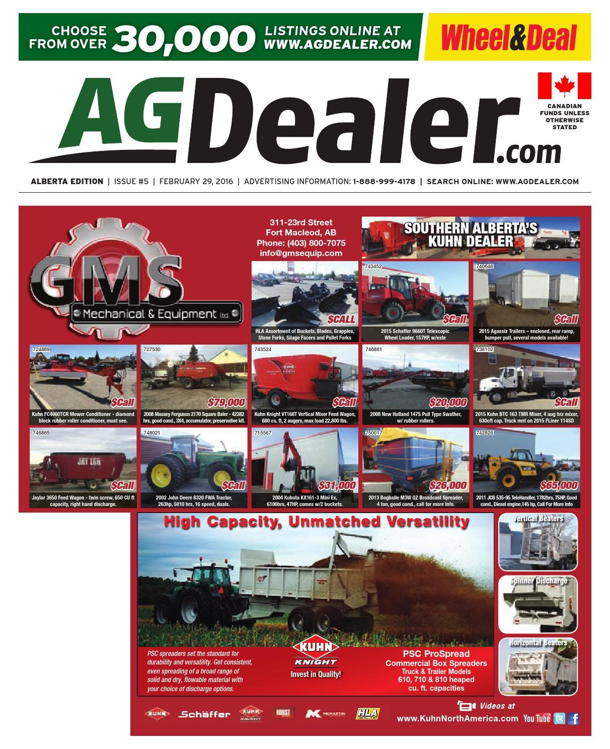 Wheel & Deal Alberta, February 29, 2016 by Farm Business ... on