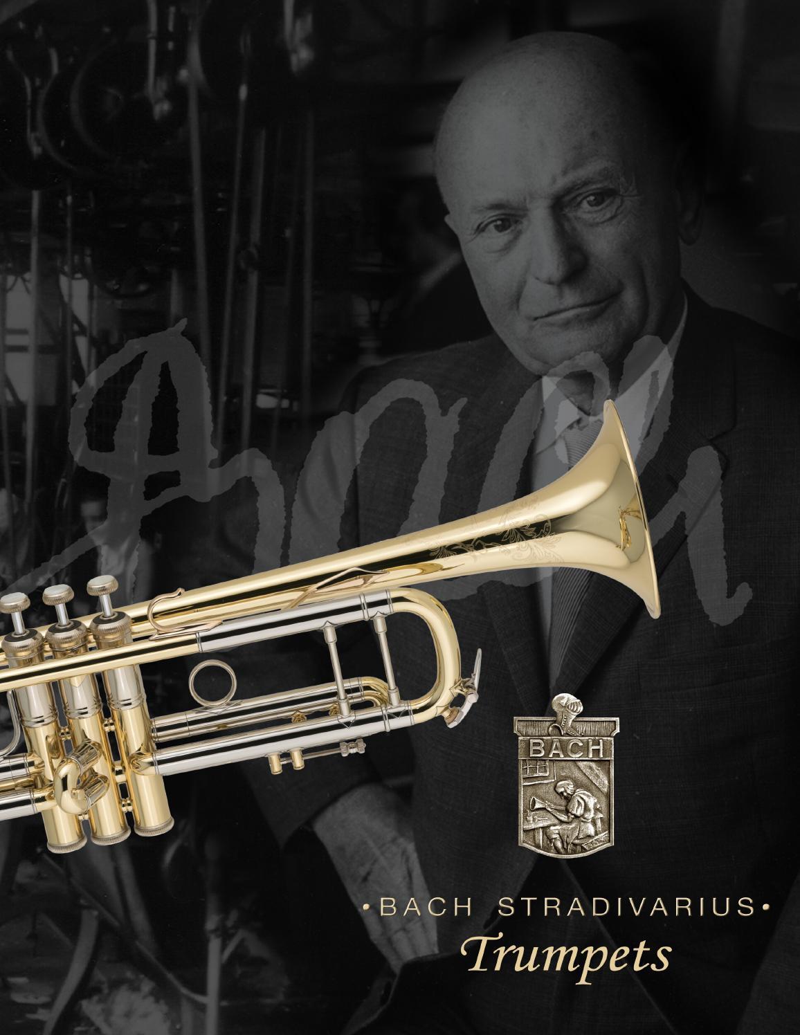 Bach Stradivarious Trumpets by Conn-Selmer Inc. - issuu