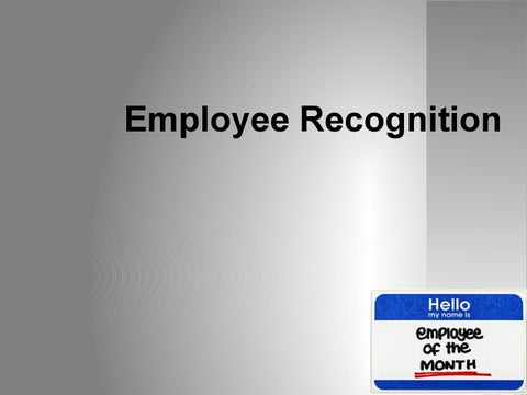 Employee Recognition Sample Powerpoint by Courseware - issuu