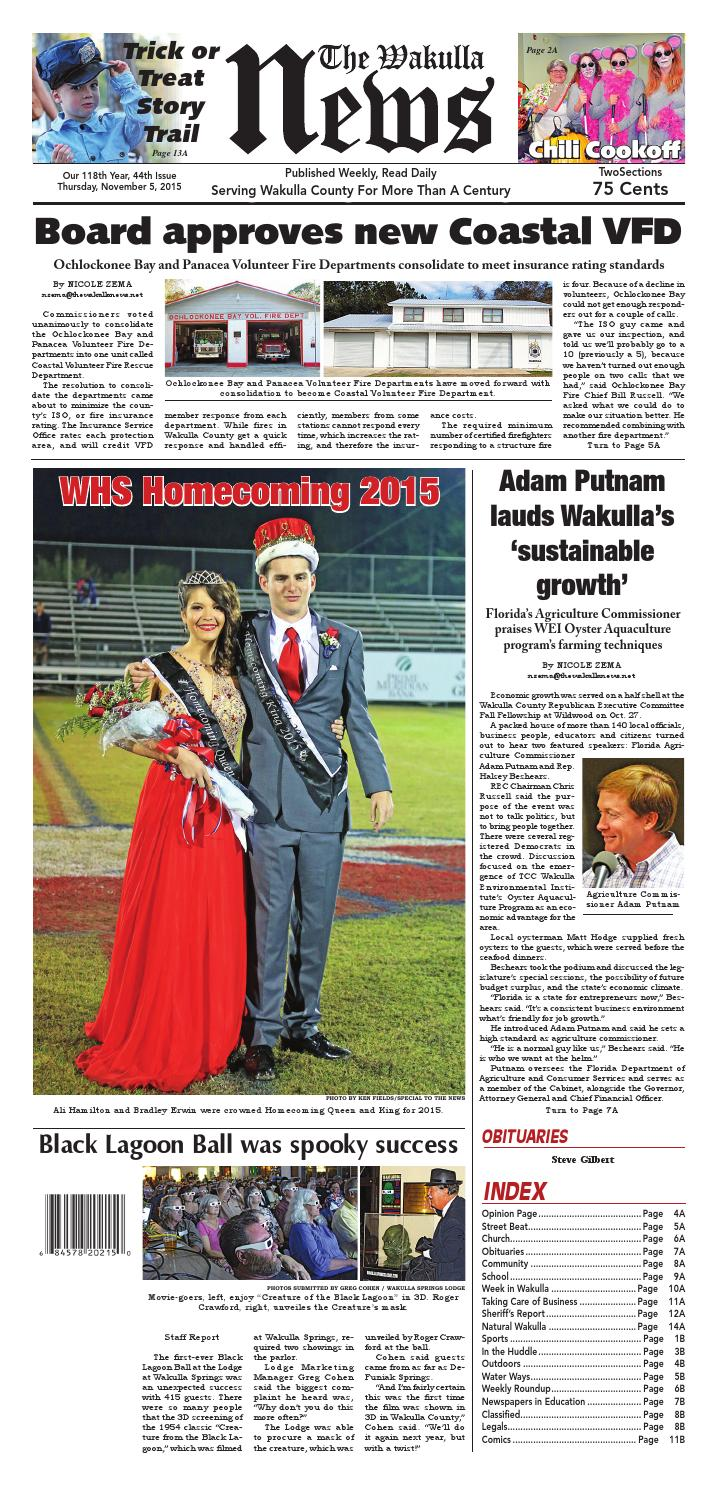 9dad4fd0a49 Nov. 5 Gen excellence 2 by The Wakulla News - issuu