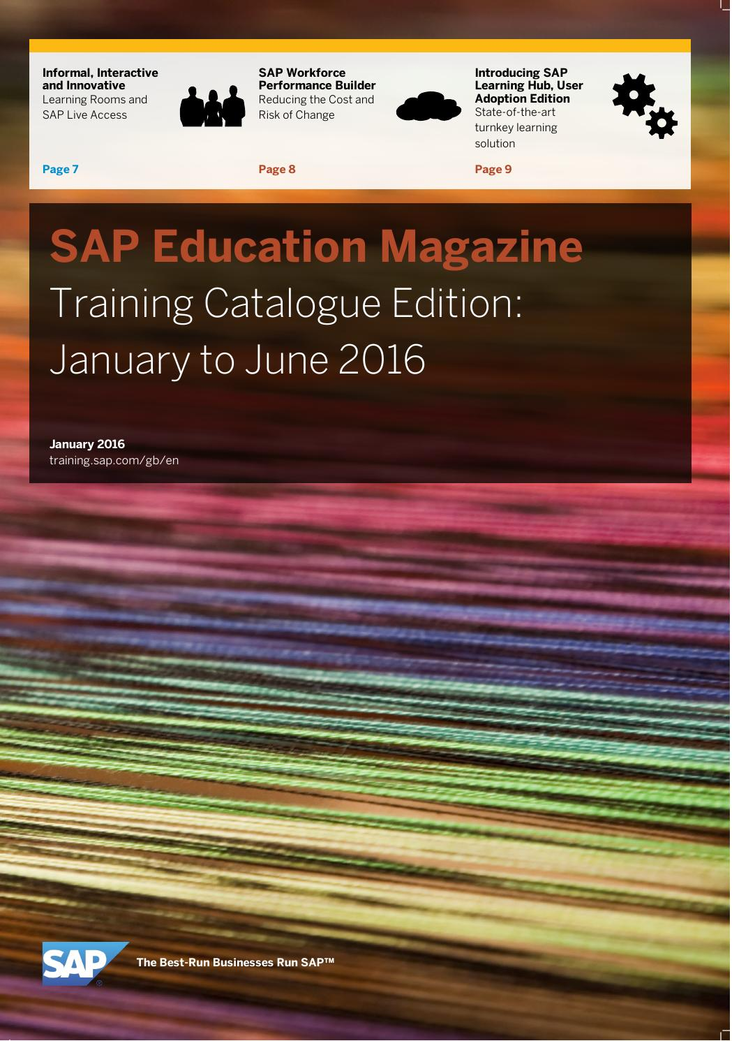 Sap education magazine training catalogue edition january to june 2016 by  Saad Khatib - issuu