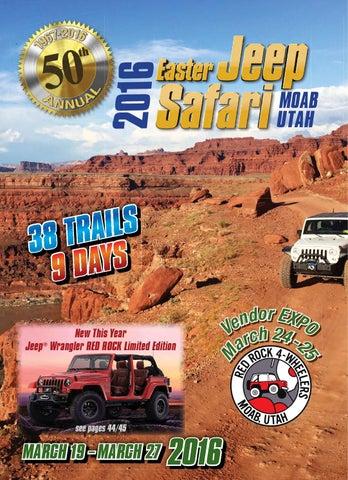 Easter Jeep Safari 2016 By Red Rock 4 Wheelers Issuu