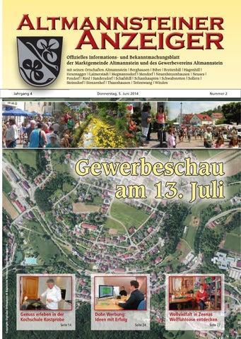 Altmannsteiner Anzeiger 2016 Ausgabe 4 by Gewerbeverein