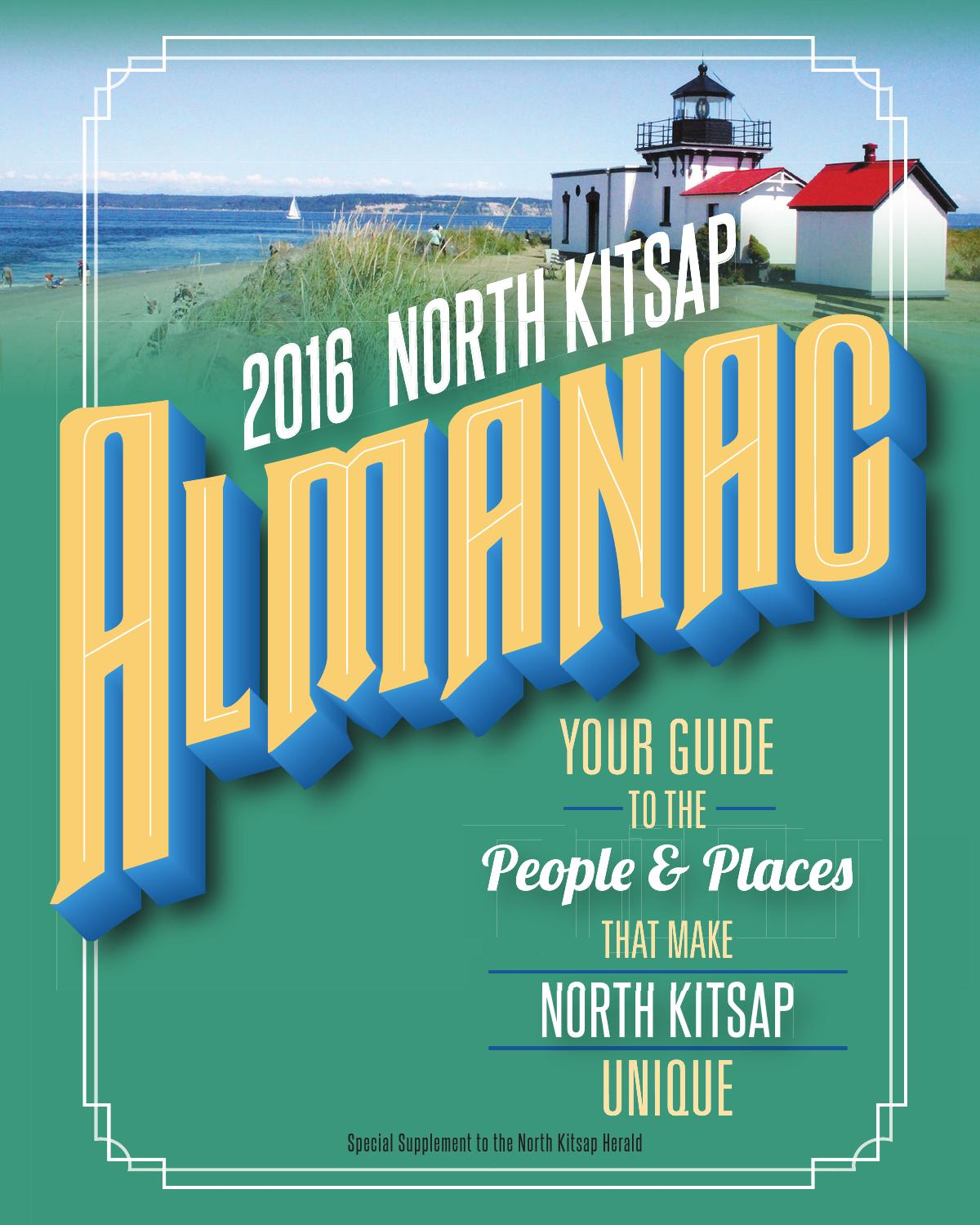 Almanacs - North Kitsap Almanac - 2016 by Sound Publishing - issuu