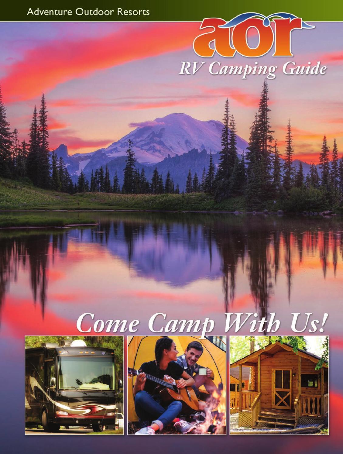 Aor Rv Camping Guide By Kathy Amen Design Issuu