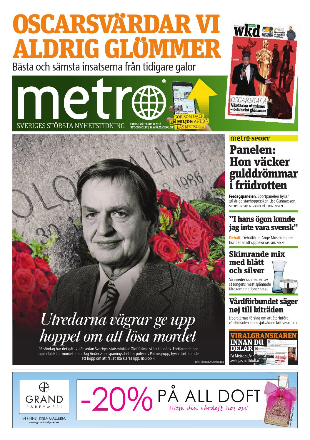 save off ae2c0 bc57b 20160226 se stockholm by Metro Sweden - issuu