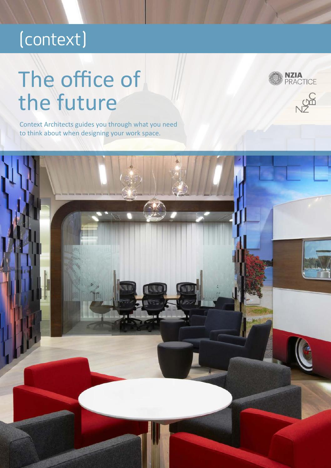 Context architects office of the future guide ebook by for Office design of the future