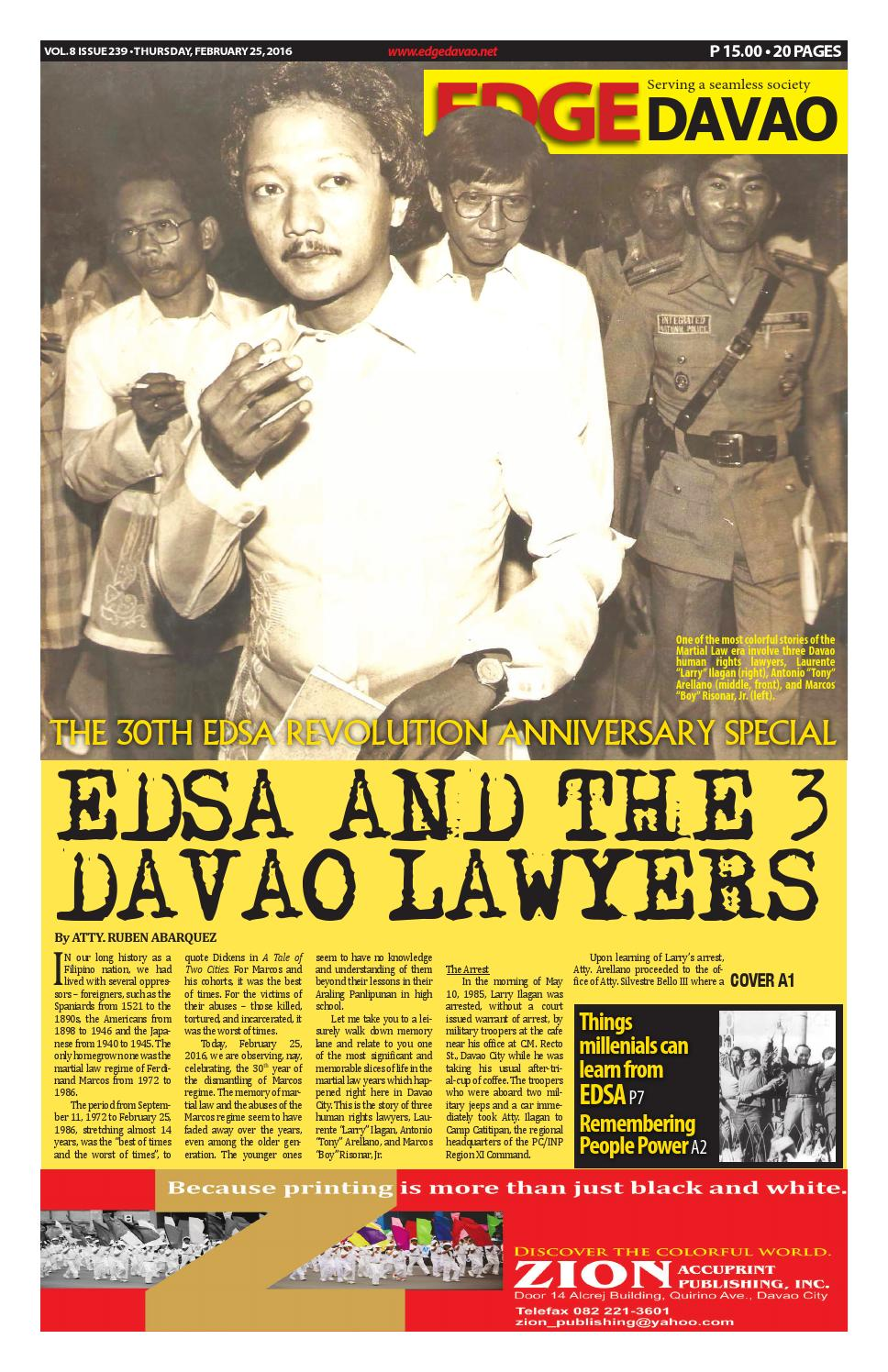 Edge Davao 6 Issue 239 by edge davao the business paper - issuu