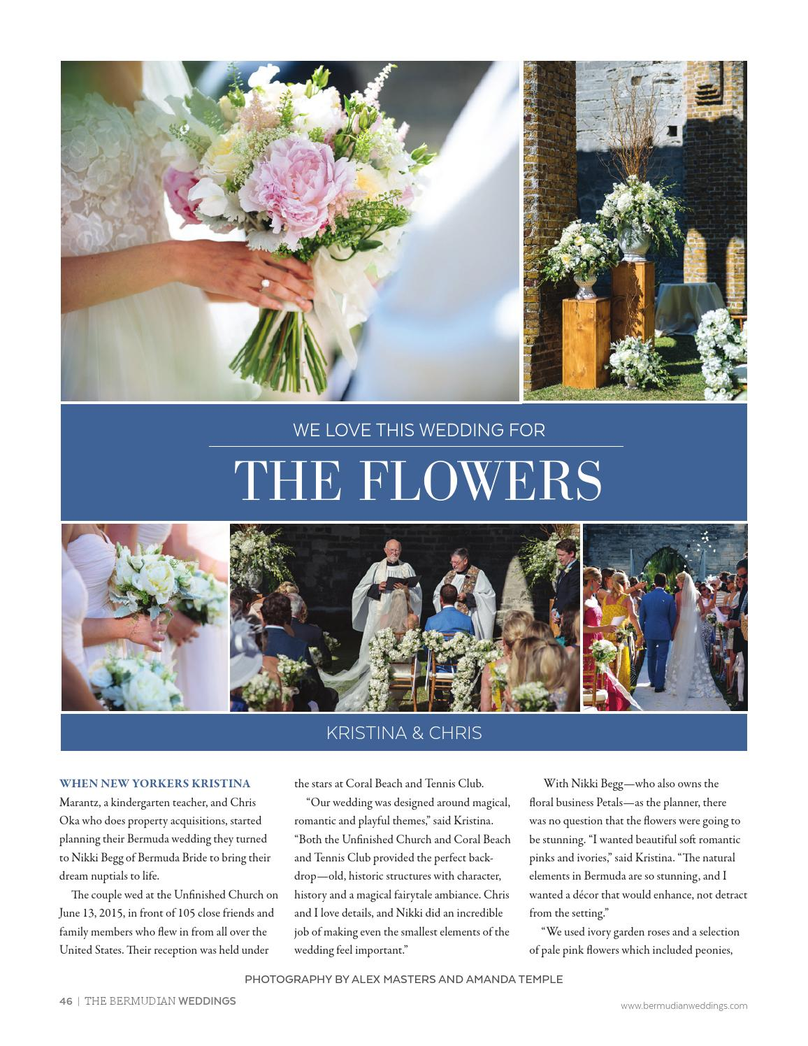 Bermudian Weddings by The Bermudian Publishing Company - issuu