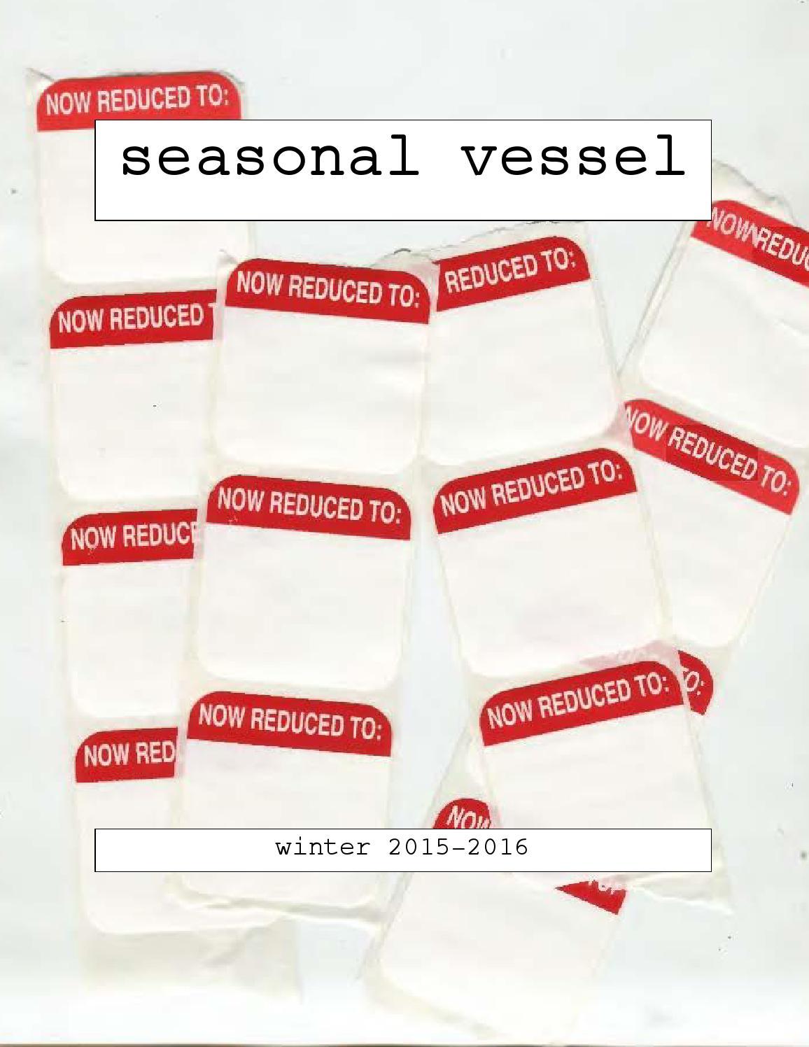 seasonal vessel by bunkmate - issuu