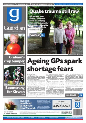 Ag 23 February 2016 By Ashburton Guardian Issuu