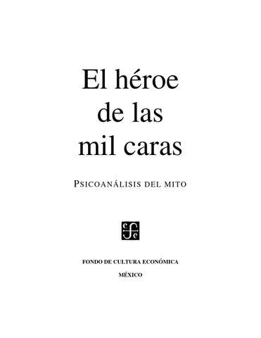 El heroe de las mil caras by fredmendoza - issuu