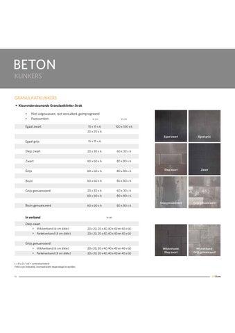 Tuintegels 100x100 Beton.Catalogus 2016 Tegels Klinkers By Artstone Issuu
