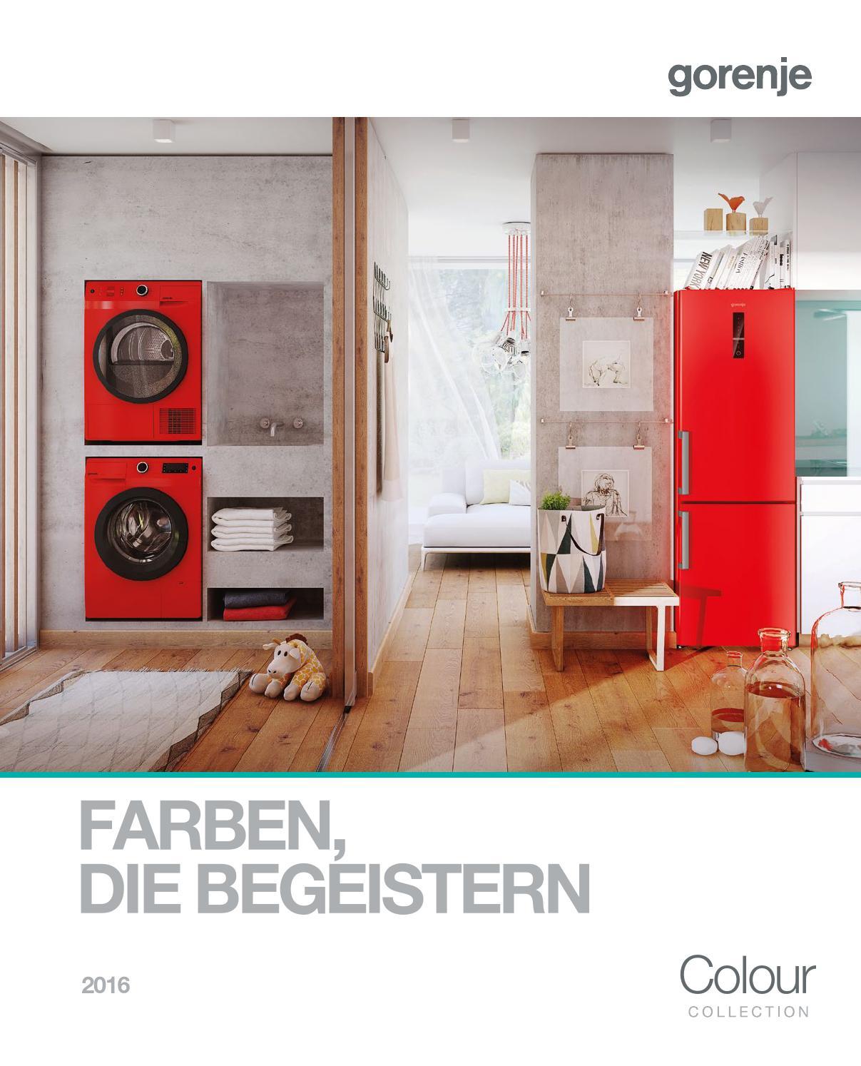 Wandfarbe Farbpalette Toom Eine Graue Farbpalette: Image Farbbroschure 2016 By Gorenje D.o.o.