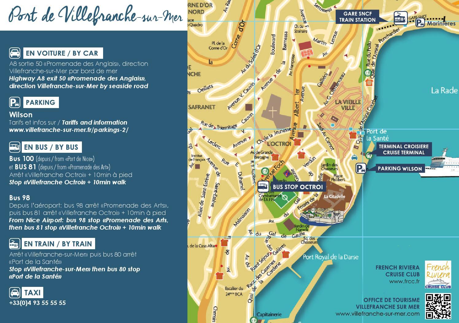 plan d 39 acc s au port de villefranche sur mer croisi re by cci nice c te d 39 azur issuu. Black Bedroom Furniture Sets. Home Design Ideas