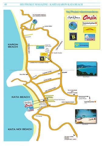 Karta Phuket.Hej Phuket Nr 16 Mars April 2016 Webbversion By Hej Phuket Issuu