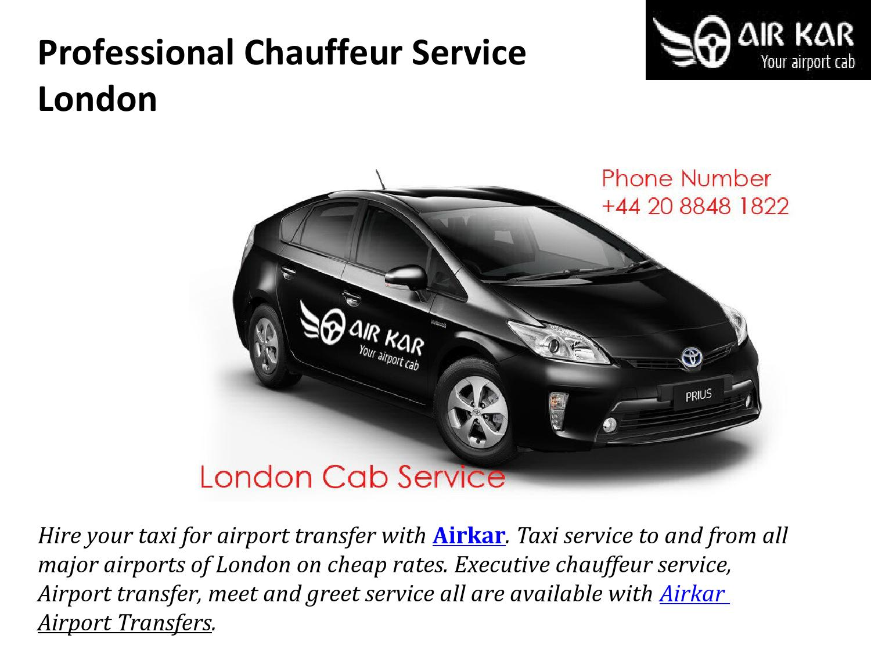Professional chauffeur service london by airkar issuu kristyandbryce Gallery
