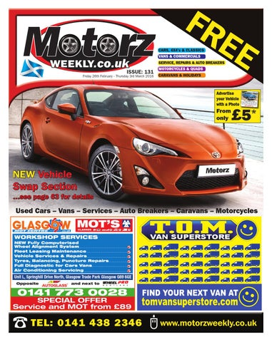 Issue 131 by motorz weekly issuu page 1 fandeluxe Gallery