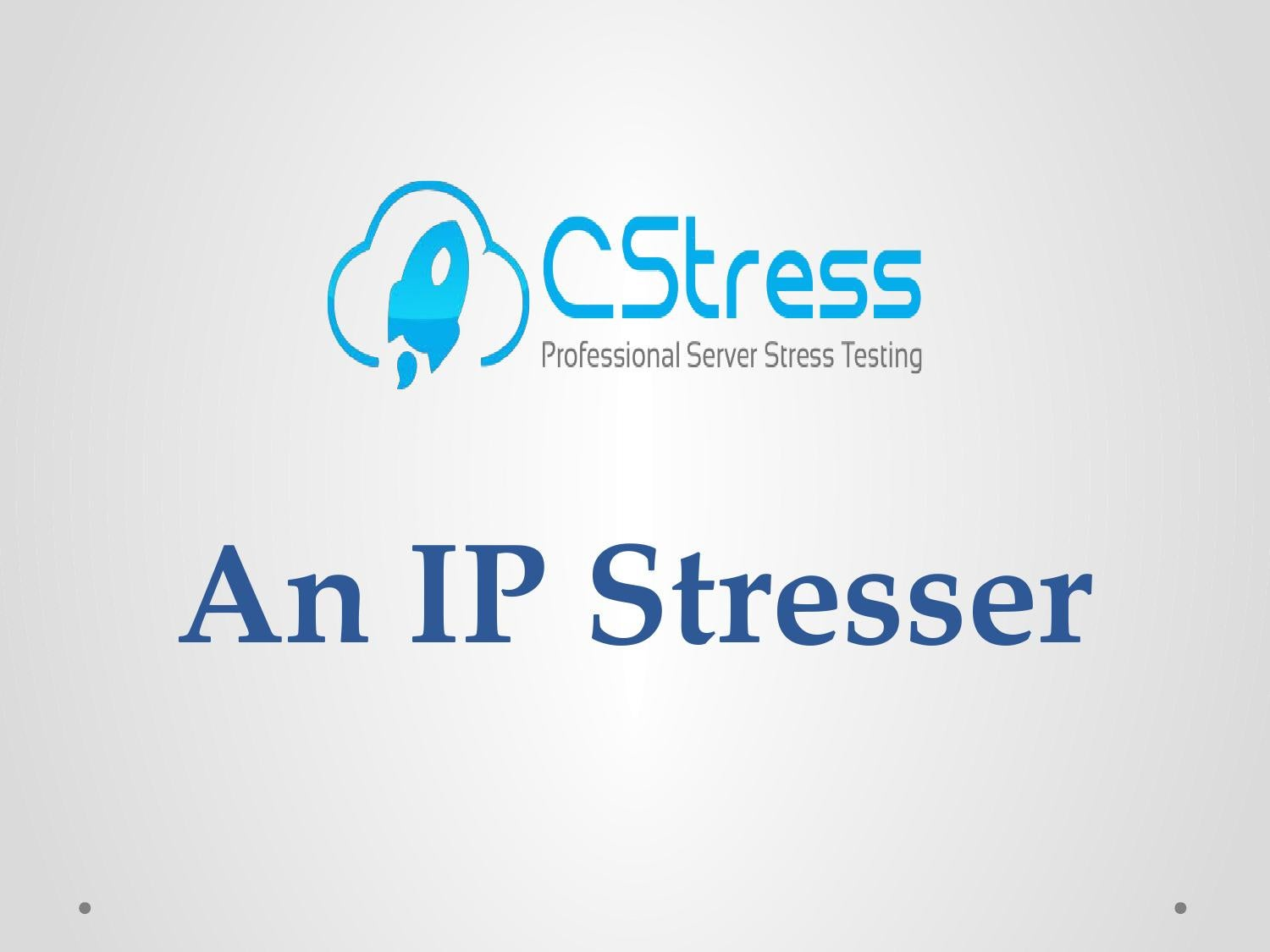 what is an ip stresser