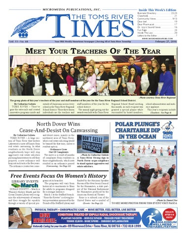 bbf6294ff0f 2016-02-27 - The Toms River Times by Micromedia Publications Jersey ...