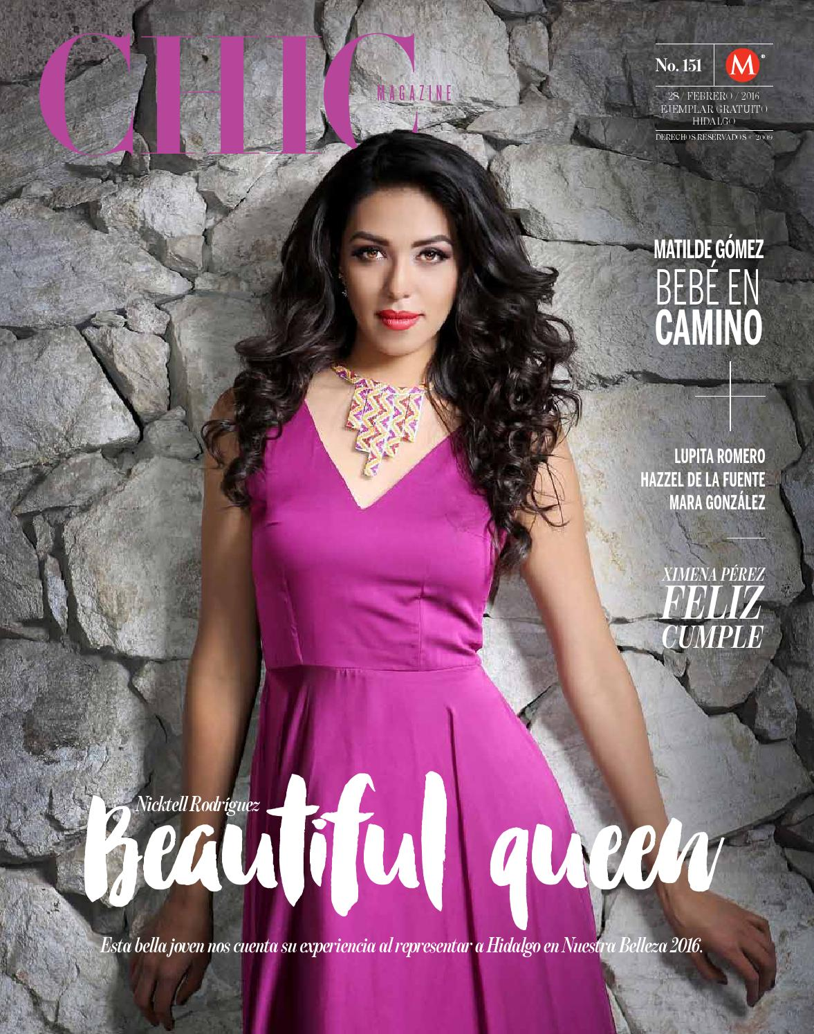 Chic Magazine Hidalgo, núm. 151, 28/feb/2016 by Chic Magazine ...