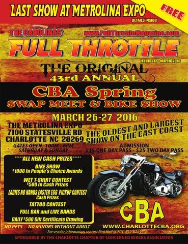 March 2016 issue 212 by the carolinas full throttle magazine issuu handlebar corral fandeluxe Choice Image