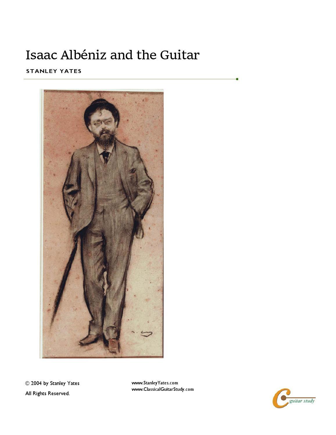 Albeniz Sevilla Sevillanas No.3 De La Suite Espanola romero Guitar Music Book