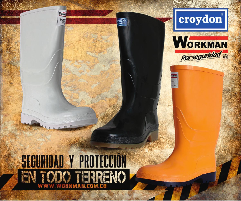 5c2bdf93c5 Catálogo Botas Industriales - CROYDON-WORKMAN by Croydon Colombia S.A. -  issuu