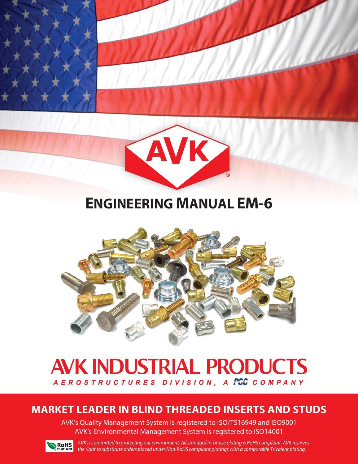 M10 x 1.5 AKPT6P1015 Insert Installation Tool AVK Steel