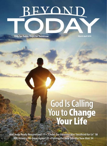 What Happened To Hope And Change >> Beyond Today Magazine - March/April 2016 by United Church of God, an International Association ...