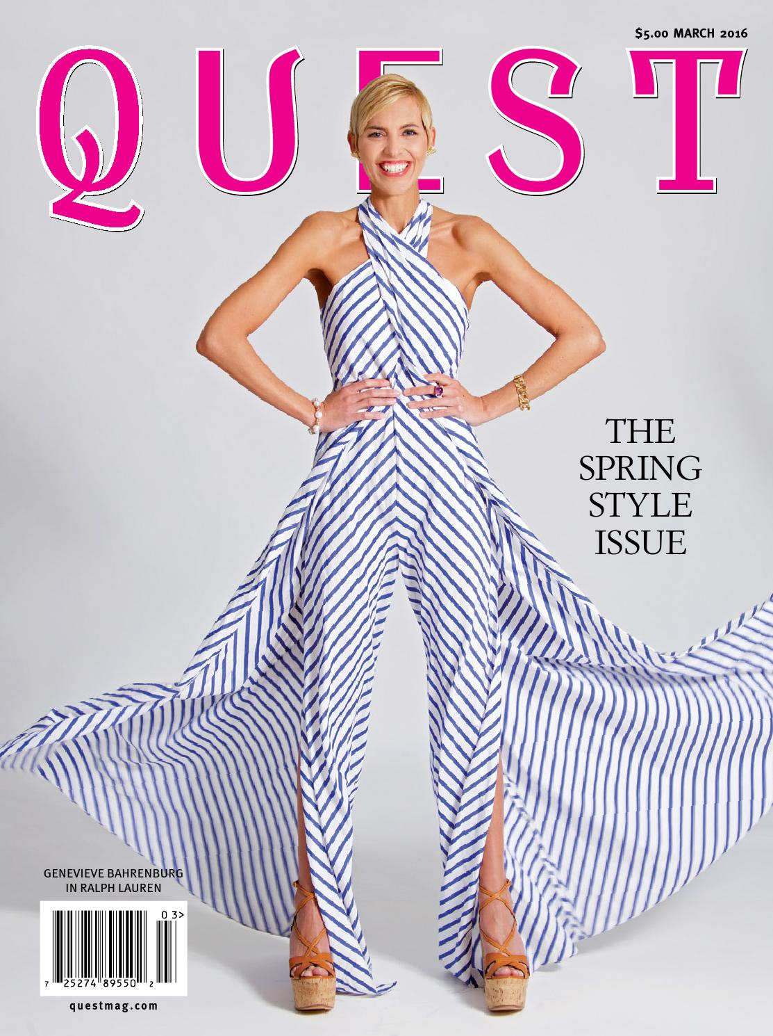 Quest March 2016 by QUEST Magazine - issuu