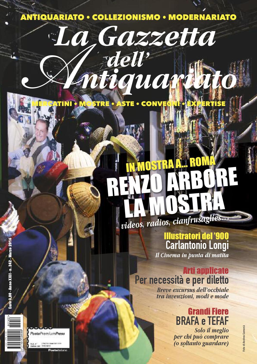 La Gazzetta dell Antiquariato n. 242 - Marzo 2016 by La Gazzetta  dell Antiquariato - issuu bd12bc234e3