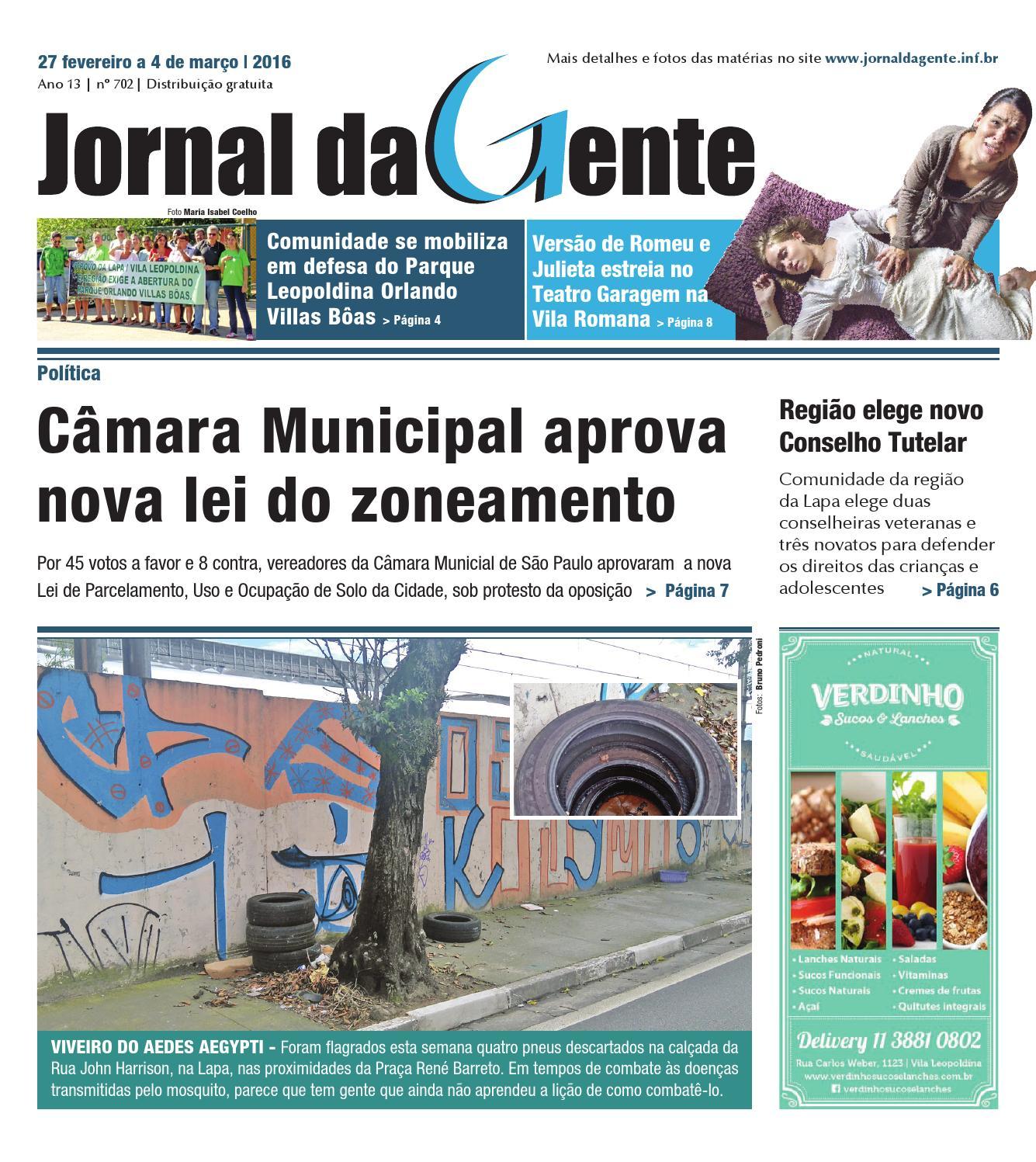 Jornal Da Gente Edi O 702 27 De Fevereiro A 04 De Mar O De  ~ Balança De Cozinha Digital Aarmario De Cozinha Janaina