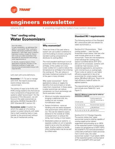 News free cooling using water economizers by Orhun TIĞ - issuu
