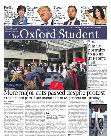5cac381eaf0ed The Oxford Student - Volume 75 Issue 3 by The Oxford Student - issuu