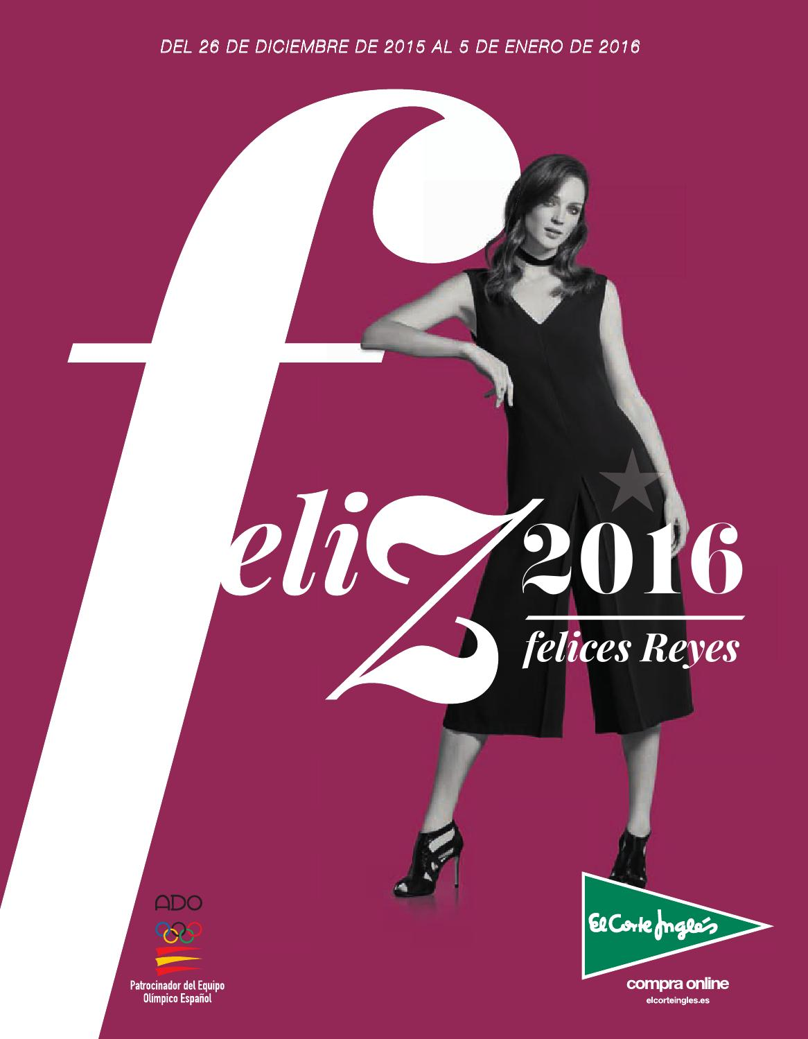 El Corte Inglés Feliz 2016 by André Gonçalves - issuu