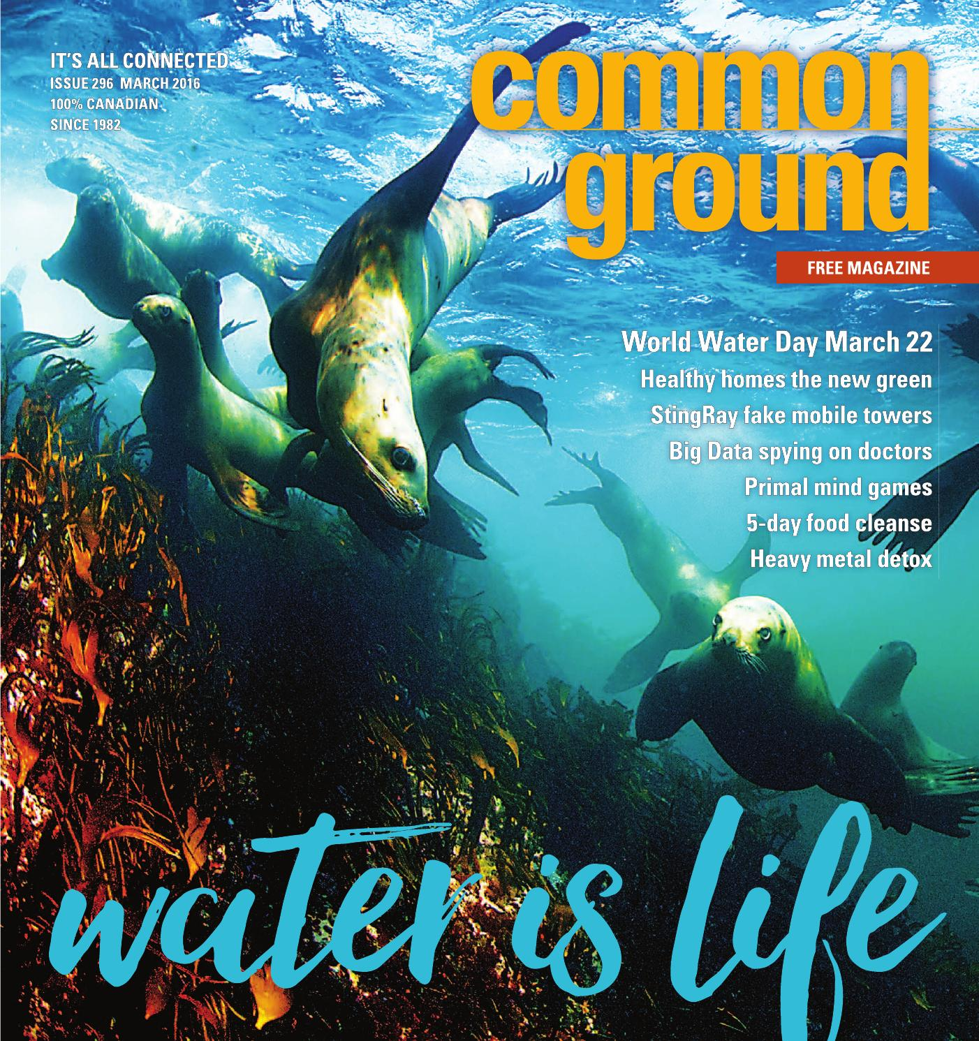 Common Ground March 2016 By Common Ground Magazine Canada