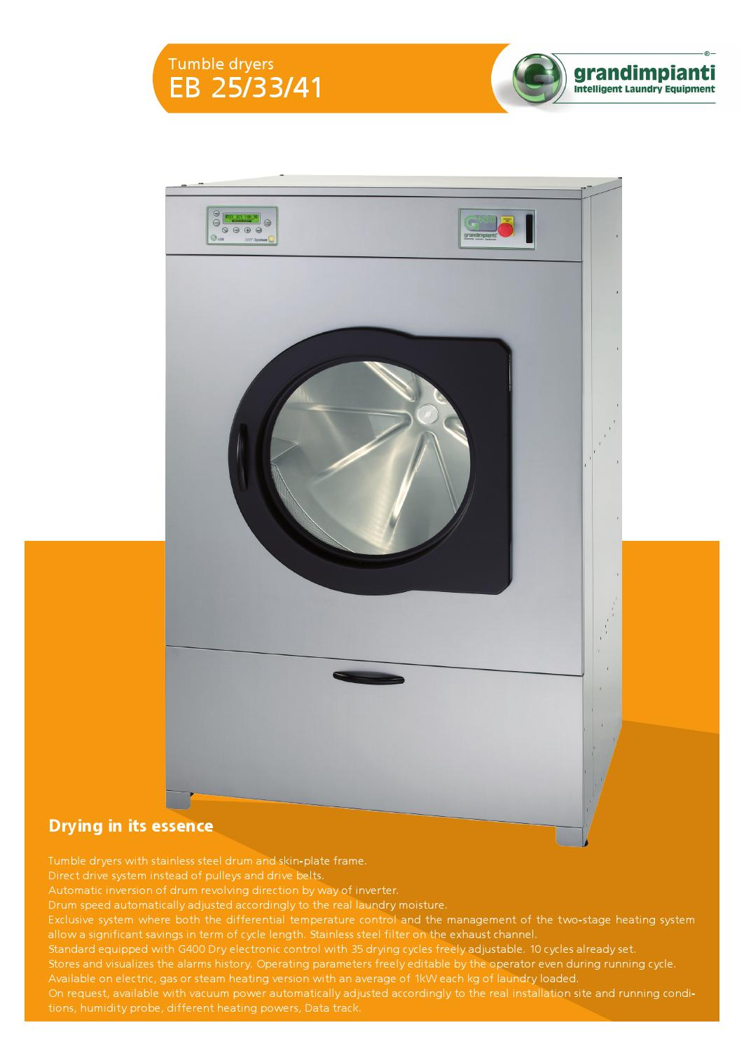 Hotel In Tumble Dryer ~ Tumble dryer eb by kda hotel and institutional