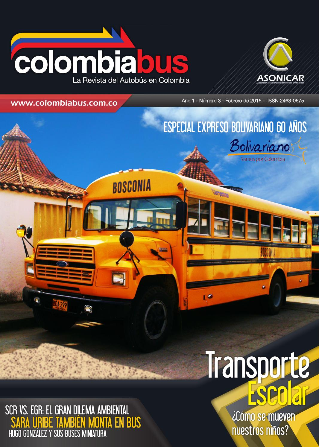 Revista Colombiabus febrero 2016 - Ed.3 by Colombiabus - issuu